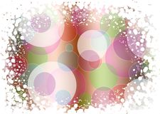 Abstract background of holiday lights Royalty Free Stock Photography