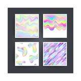 Abstract background holographic vector Royalty Free Stock Photography