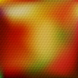 Abstract background with honeycomb pattern Stock Photo