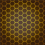 Abstract Background honeycombs Stock Images