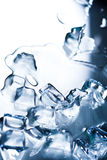 Abstract background with ice cubes Royalty Free Stock Image