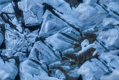 the abstract background of ice frozen structure. Seamless texture Royalty Free Stock Images