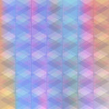 Abstract background of identical diamonds with different shades of color. Gradient. Vector illustration Royalty Free Stock Photography