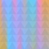 Abstract background of identical diamonds with different shades of color. Gradient. Vector illustration Stock Photography
