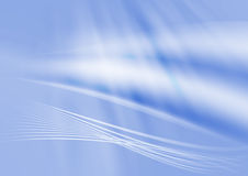 Abstract background II. Beautiful blue abstract background with light effects Stock Photography