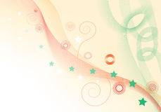 Abstract background illustration. Abstract background;  illustration of colored shapes Royalty Free Stock Photo