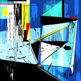 abstract background illustration Στοκ εικόνα με δικαίωμα ελεύθερης χρήσης