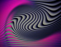 Abstract zebra pattern in pink tones. Stock Photos