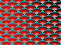 Ornament in blue and red tones. Abstract background. Illustration. Art picture. Saturated color Royalty Free Stock Images