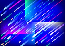 Abstract Background. Illustration of Blue Abstract Background Royalty Free Stock Photo