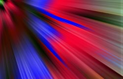 Colorful background. Colored spots and strips diverge from the upper corner downwards. Abstract background. Illustration & Clipart. Blue, red and green colors Royalty Free Stock Photo