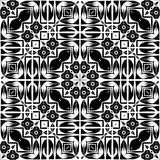 Abstract background illustration and clipart. Vector BLACK WHITE PATTERN DESIGN 3d and computer generated vactor Vector BLACK WHITE PATTERN DESIGN GEOMETRIC Royalty Free Stock Photography