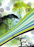 Abstract background illustration design Stock Images
