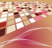 Abstract background illustration design Stock Image