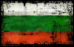 Flag of bulgaria. Abstract background illustration - flag bulgaria Royalty Free Stock Image