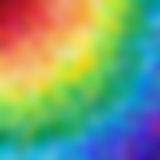 Abstract background image blur the rainbow square background with colors from red to blue Stock Photo