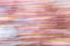 Abstract background image of cherry blossom flowers with motion blur effect. Abstract background image of cherry blossom flowers with a motion blur effect stock illustration