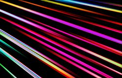 Colorful bright background. Colored stripes diverge from the upper corner downwards. Abstract background. Image for Illustration & Clipart. Unique wavy texture royalty free illustration