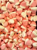 Pink sweet candies Stock Images