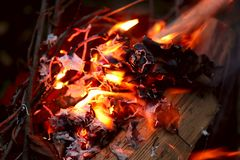 Abstract background image of a red flame of a fire. stock photos