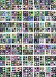 Abstract colorful background with circles Royalty Free Stock Photography