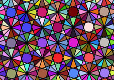 Abstract background imitating a multicolored windmill. Vector Royalty Free Stock Photos