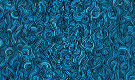 Abstract background is imitating the sea waves. Vector Stock Photo