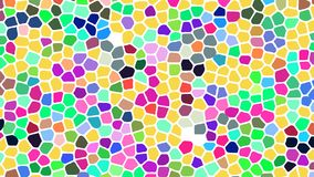 Abstract background imitating stained glass. Vector stock illustration