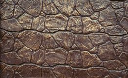 Abstract background imitation of an iron wall of stone royalty free stock photos