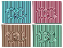 Abstract background with infinity symbol Royalty Free Stock Photography