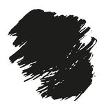 Abstract background. Ink brush stroke with rough edges. Easy to edit. Abstract background. Ink brush stroke with rough edges Stock Photography