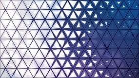 Abstract background from ink triangles, for graphic design. Vector illustration Royalty Free Stock Image