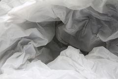 Abstract background of the insides of a white plastic bag - Series 2 Royalty Free Stock Images