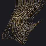 Abstract Background inspired art nouveau style. Stock Photos