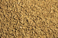 Abstract background of instant coffee granules Royalty Free Stock Photo