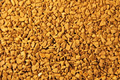 Abstract background of instant coffee granules Royalty Free Stock Photos
