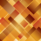Abstract background, intersected rectangles. Autumn, wood concept Royalty Free Stock Images