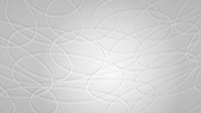 Abstract background of intersecting circles. With shadows in gray colors Royalty Free Illustration