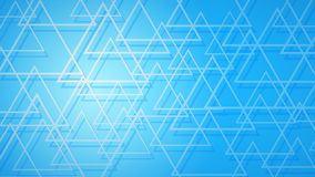 Abstract background of intersecting triangles. Abstract background of dark red intersecting triangles with shadows in light blue colors royalty free illustration