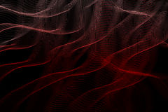 Abstract background with intertwining stripes. Abstract background with intertwining red and white stripes royalty free illustration