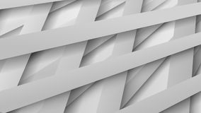 Abstract background of interwoven stripes. Abstract background of interwoven white stripes with shadows Vector Illustration