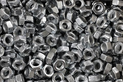 Abstract background of ironwares screws Royalty Free Stock Photo
