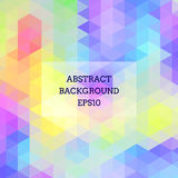 Abstract background in isometric style. Bright colors. Geometric pattern Royalty Free Stock Photography