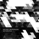 Abstract background in isometric style. Build of three-dimensional shapes. Stock Photography