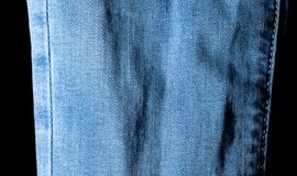 Abstract background of jeans Royalty Free Stock Photo