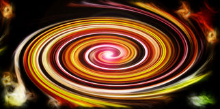 Abstract background with juicy saturated spiral. Colors Stock Image
