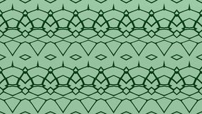Abstract background in kelly green and green tones. Abstract background with ornament from repeated patterns with scribbles in kelly green and green tones vector illustration