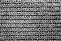 Abstract Background Knitted Pattern Fabric. Stock Photos