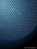 Abstract background with lattice. Vector illustration Royalty Free Stock Photos