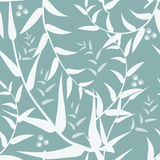 Abstract background  with leaves, vector. Abstract seamless background with leaves, vector Stock Photography